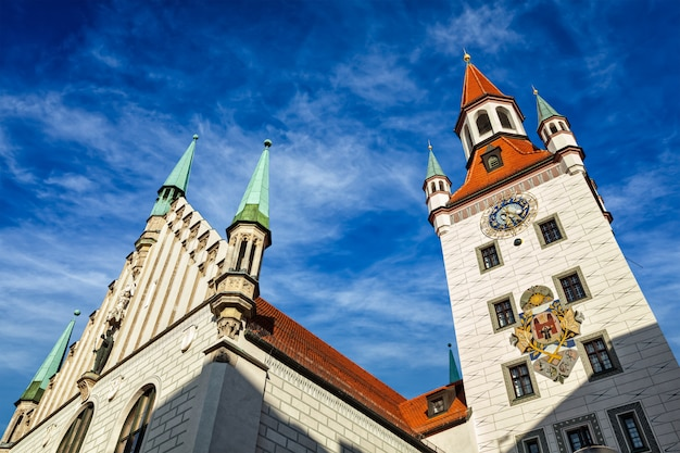 Старая ратуша altes rathaus, мюнхен Premium Фотографии