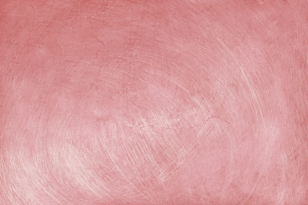 Aluminium texture background with rose gold color, pattern of scratches on stainless steel. Premium Photo