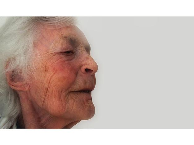 Pensionamento alzheimer s demenza vecchia casa donna di età Foto Gratuite