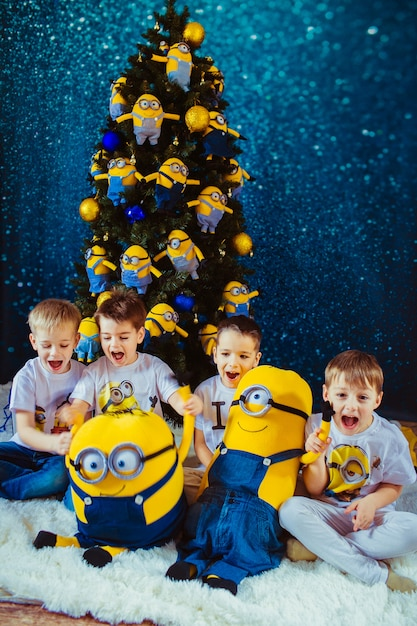 Amazing charming background group tshirt Premium Photo