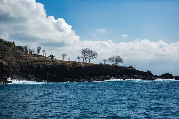 Прекрасный вид на горы. бали. Бесплатные Фотографии