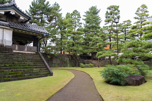 日本庭園の素晴らしい景色 Premium写真