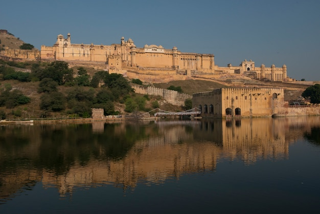 Amber fort near jaipur Premium Photo
