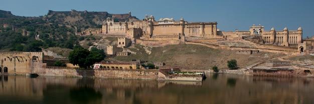 Amber fort near jaipur Premium Photo