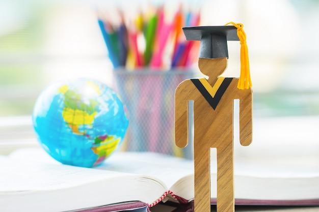 アメリカの教育知識学習留学国際的なアイデア。 Premium写真