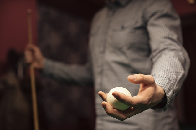 American billiard poule. Premium Photo