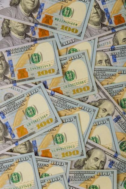 American dollar money in background Premium Photo