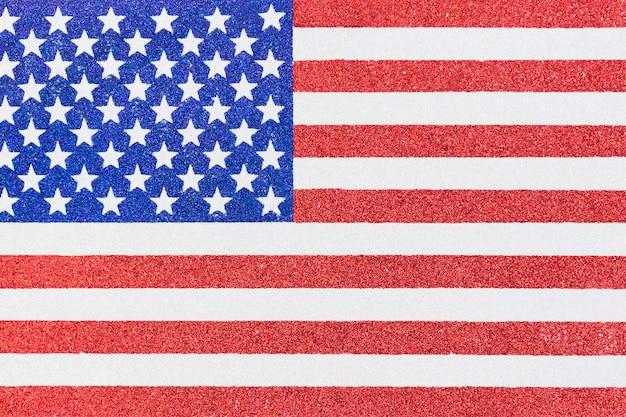 American flag illustration Free Photo