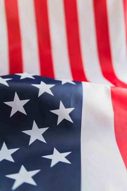 American flag stars and stripes Free Photo