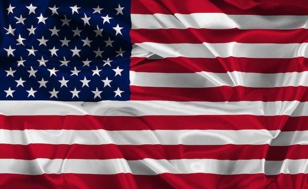 アメリカの国旗 無料写真