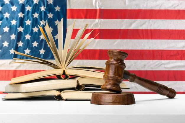 American legislation system and justice Premium Photo