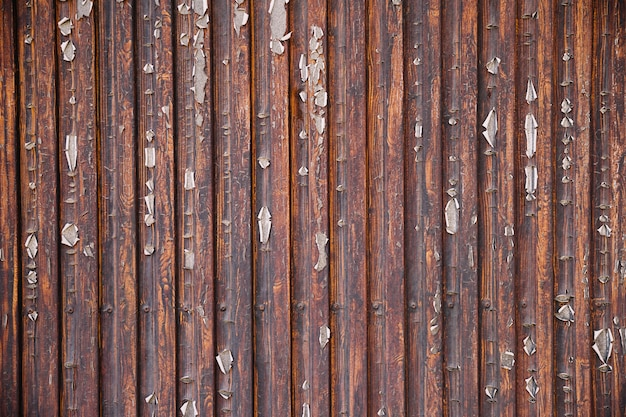 An Old Rustic Wooden Wall Background Photo