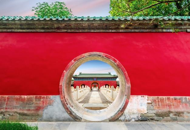 Ancient building in beijing Premium Photo