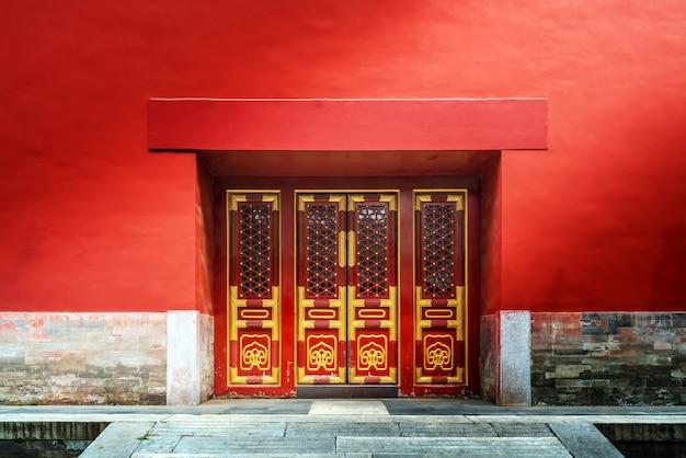 Ancient buildings in beijing Premium Photo
