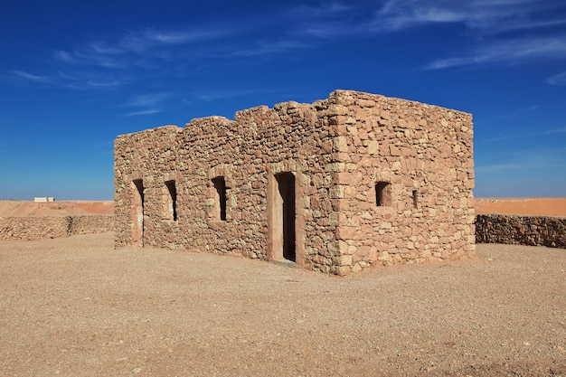 The ancient fortress in sahara desert Premium Photo