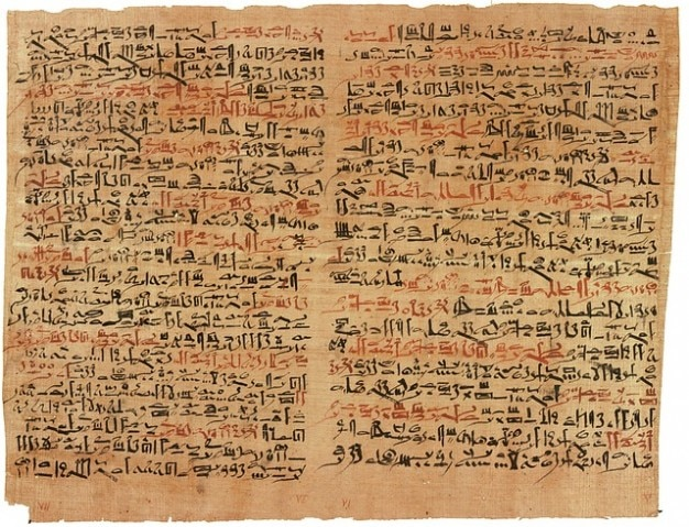Ancient Hieroglyphics Egyptian Papyrus Free Photo
