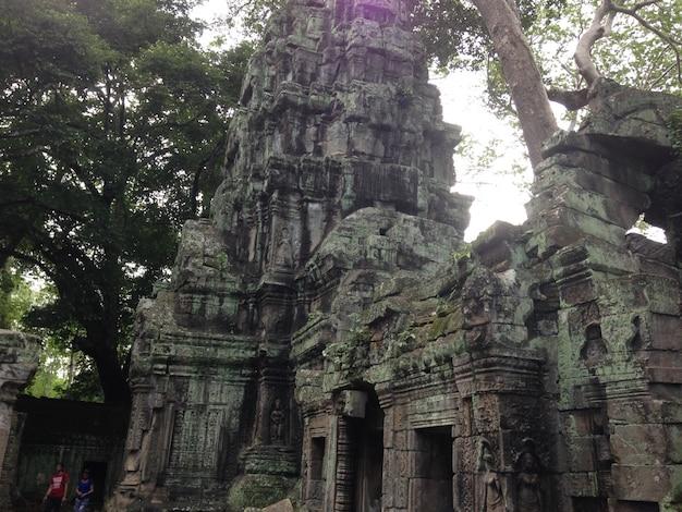 Анкор-дворцы, сием-рип, камбода. красивый рай. Бесплатные Фотографии