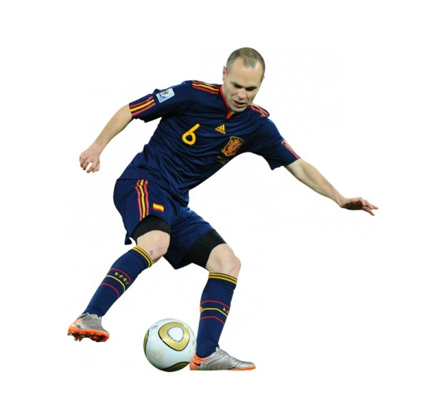 Andres Iniesta , Spain National team Free Photo