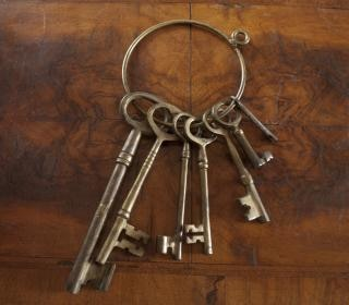 Antique Skeleton Keys Free Photo