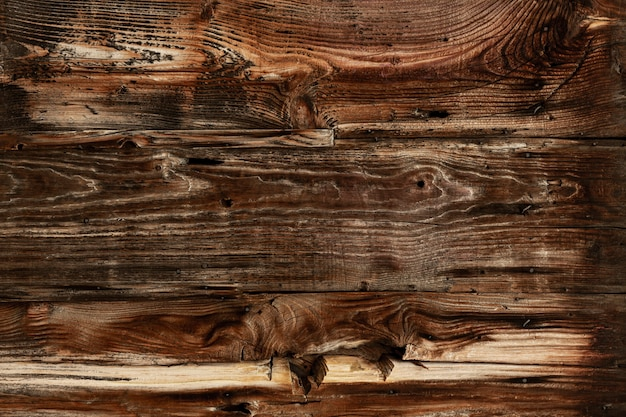 Antique wood with worn surface Free Photo