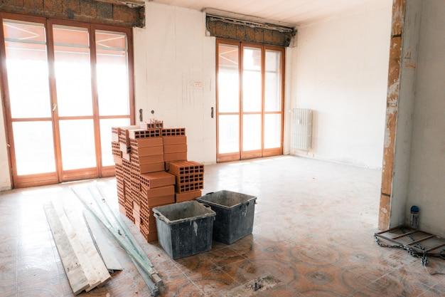 Apartment under renovation Premium Photo