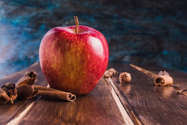 Apple and cinnamon Free Photo