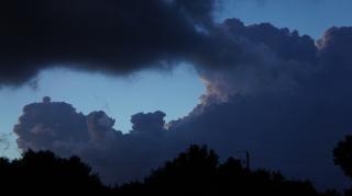 Approaching storm Free Photo
