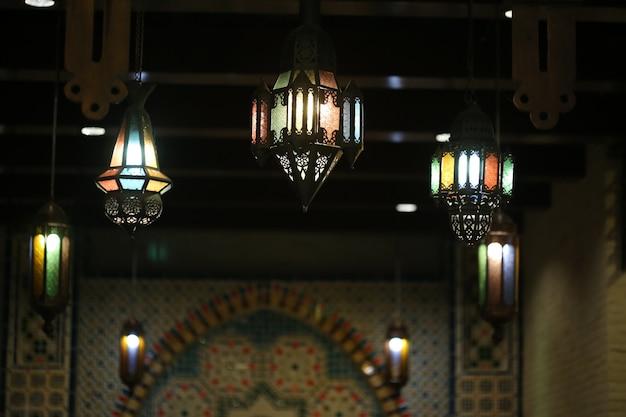 Арабский фонарь Premium Фотографии