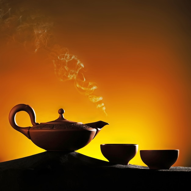 Arabian teapot with Premium Photo