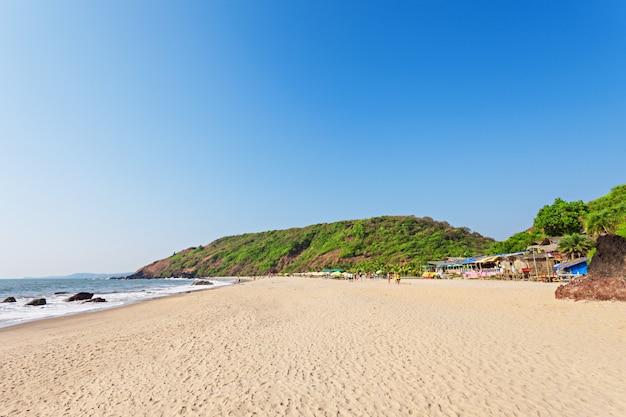 Arambol beach, goa Premium Photo