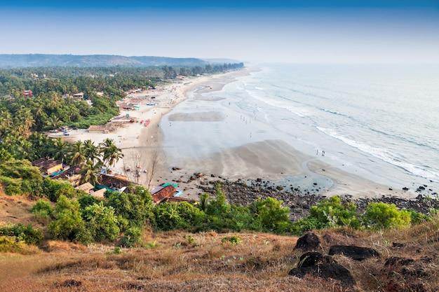 Arambol beach Premium Photo
