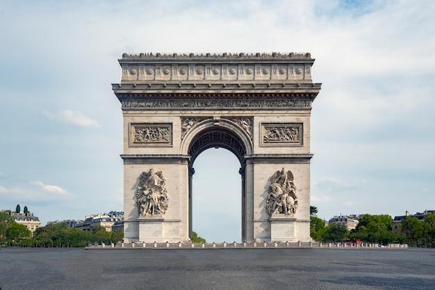 The arch of triumph Premium Photo