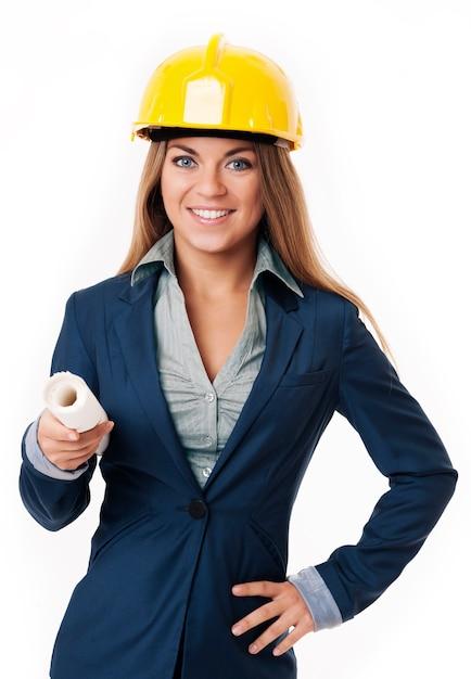 건축가 여자 무료 사진