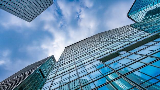Architecture commercial building Premium Photo
