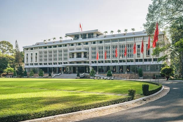 L'architettura del palazzo dell'indipendenza, ho chi minh city Foto Gratuite