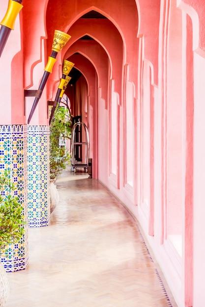 Architecture morocco style Free Photo