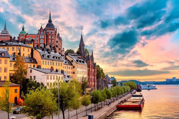 Architecture in stockholm, sweden. Premium Photo