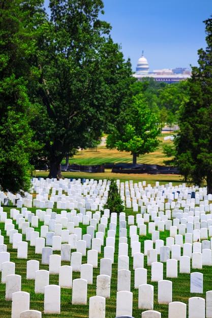 Arlington national cemetery va near washington dc Premium Photo