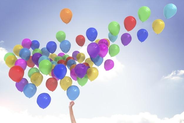 Releasing Balloons 110