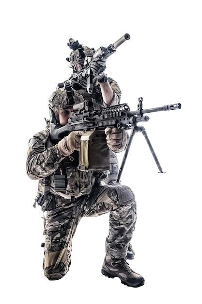 Army rangers in field uniforms Photo | Premium Download