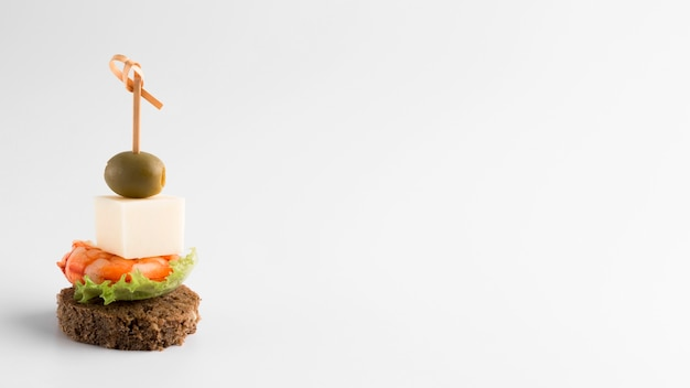 Arrangement with delicious food and copy- Free Photo