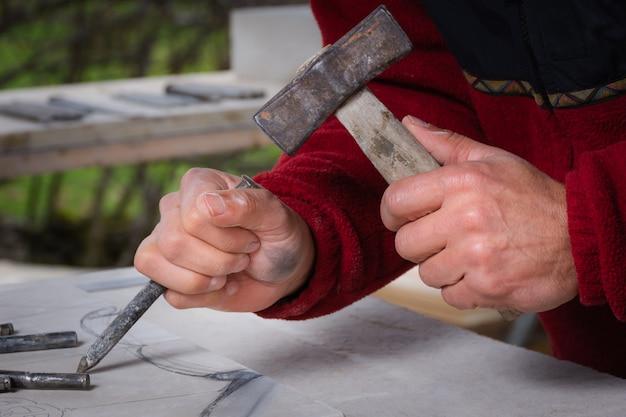 Artisan hands Premium Photo