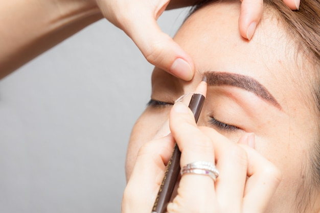 Asian permanent makeup