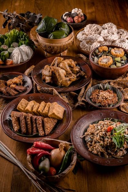 The Traditional Food Indonesia
