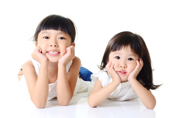 Asian kids Premium Photo