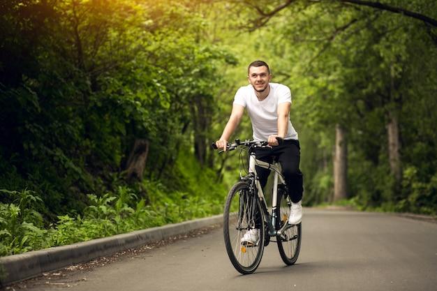 Asphalt bicycle background bike active Free Photo