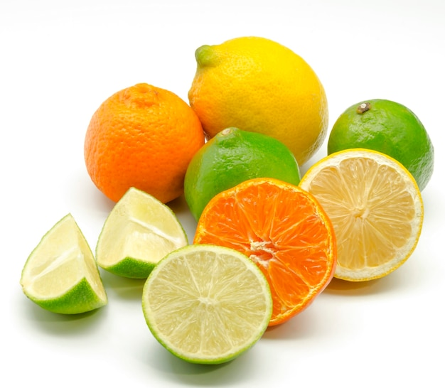 Assortment of citrus Premium Photo