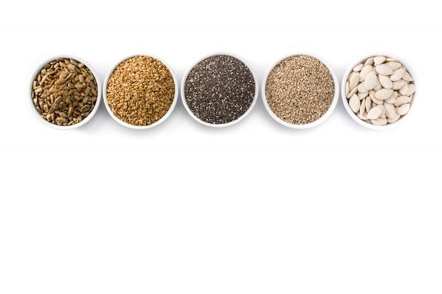 さまざまな種子の品揃え Premium写真