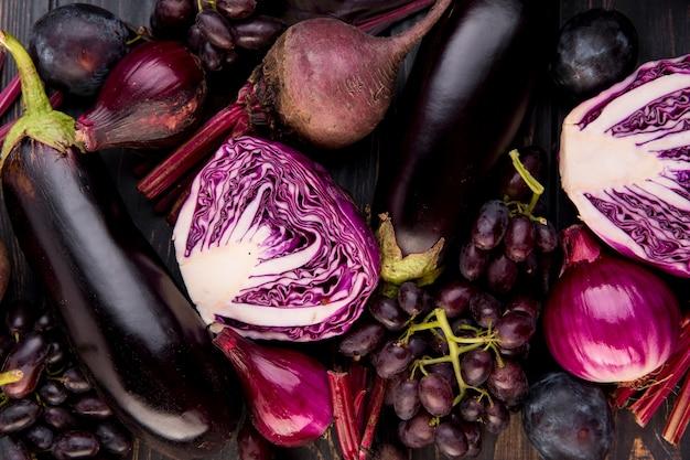 Ассортимент разных овощей и фруктов Бесплатные Фотографии