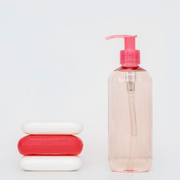 さまざまな形の石鹸の品揃え 無料写真